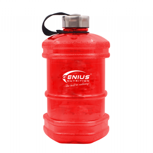 Genius Nutrition Red Water Bottle 2.3L
